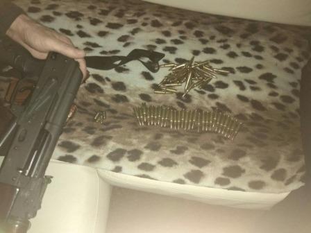 В Каменском задержаны кабельные воры с оружием, фото-3