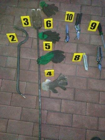 В Каменском задержаны кабельные воры с оружием, фото-9