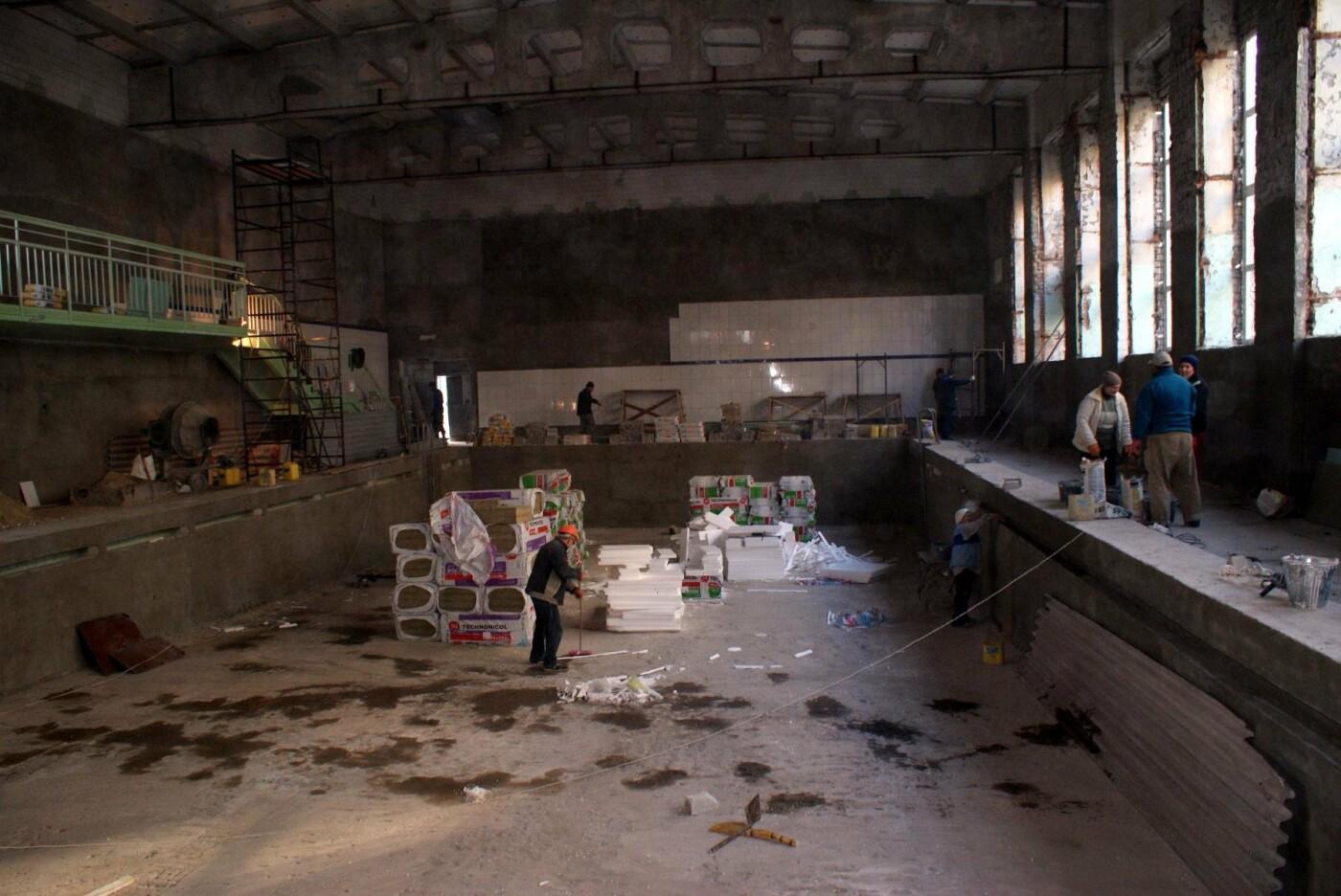 Капремонт школьного бассейна в Каменском завершат до конца года, фото-3