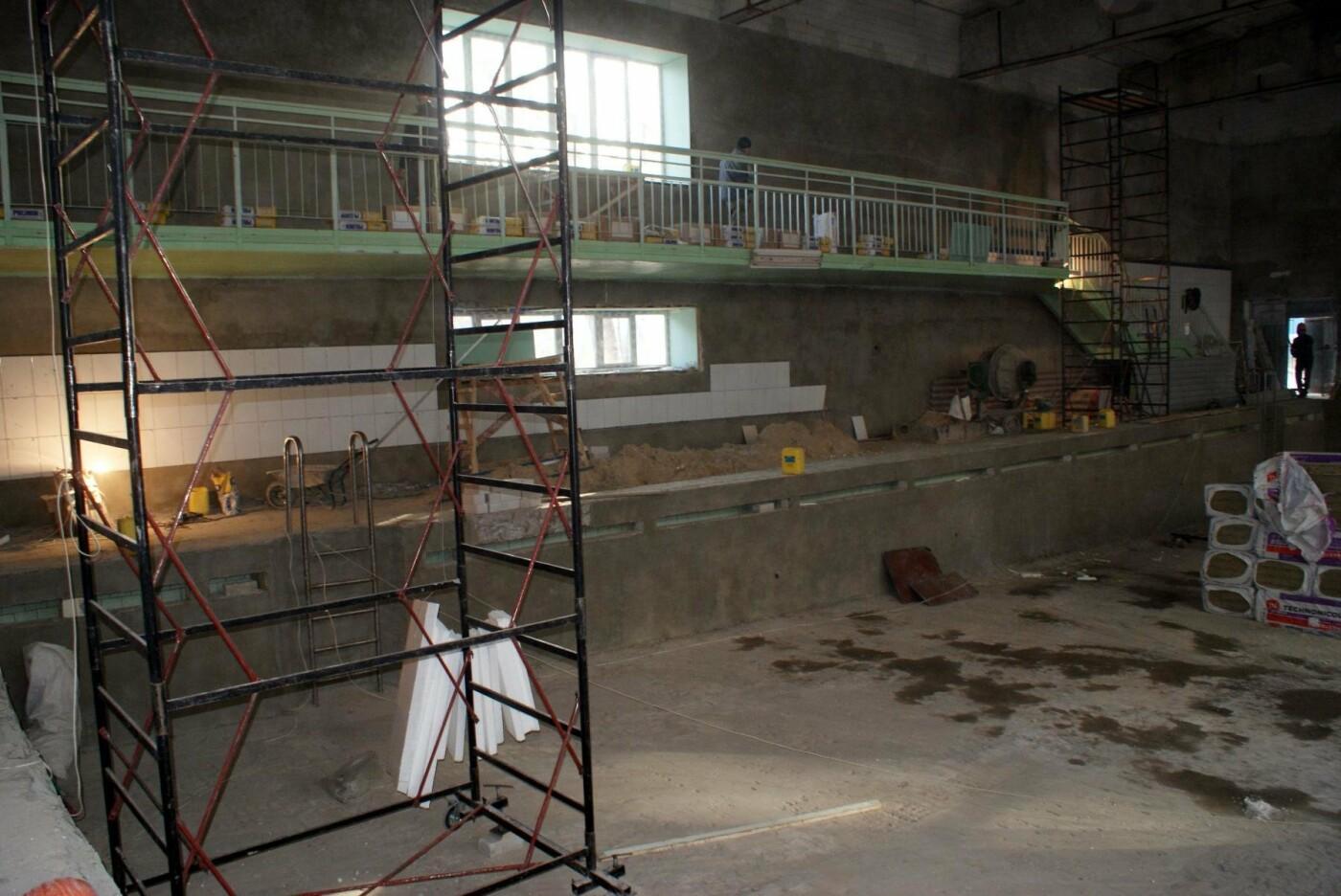 Капремонт школьного бассейна в Каменском завершат до конца года, фото-2