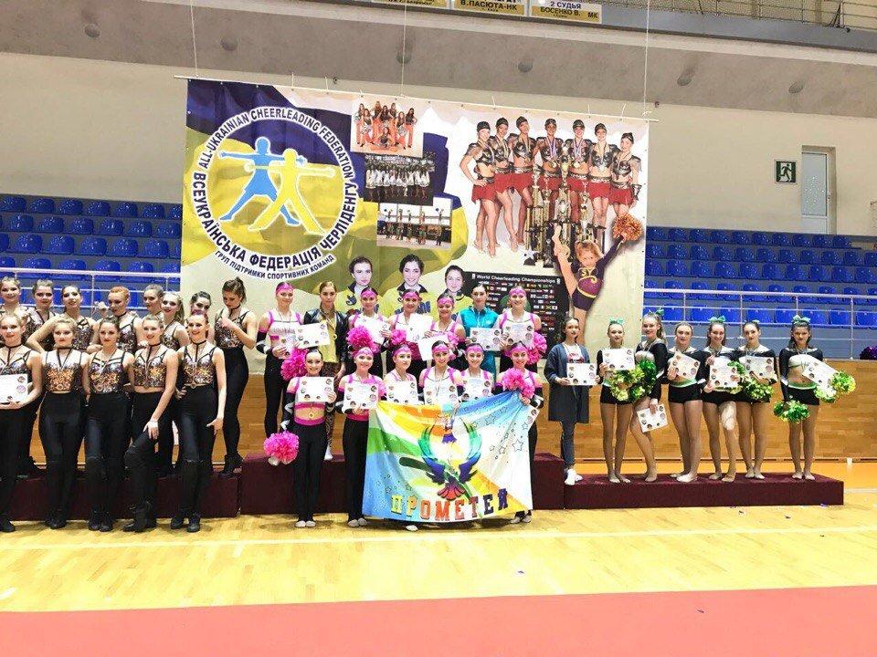Черлидеры из Каменского стали призерами Кубка Украины, фото-5