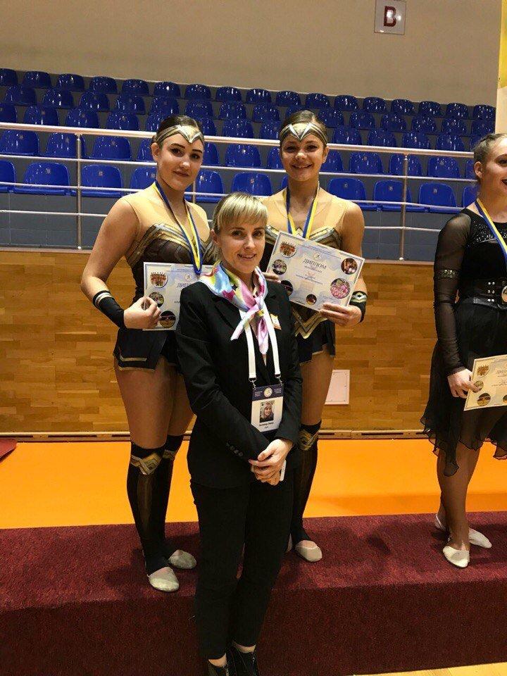 Черлидеры из Каменского стали призерами Кубка Украины, фото-1