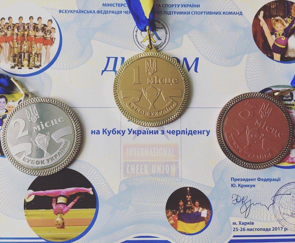 Черлидеры из Каменского стали призерами Кубка Украины, фото-9