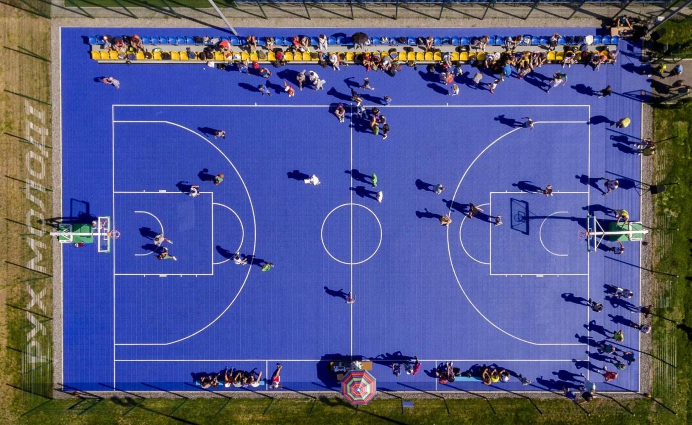 "Фонд ""Рух молоді"" установил 43 спортивные площадки по всей Украине, фото-6"