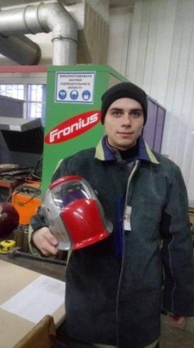 Сварщик из Каменского стал призером всеукраинского конкурса, фото-1