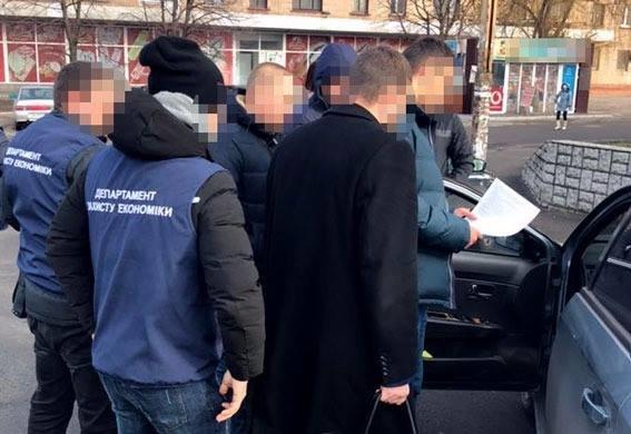 В Каменском задержали на взятке чиновника Госгеокадастра, фото-1