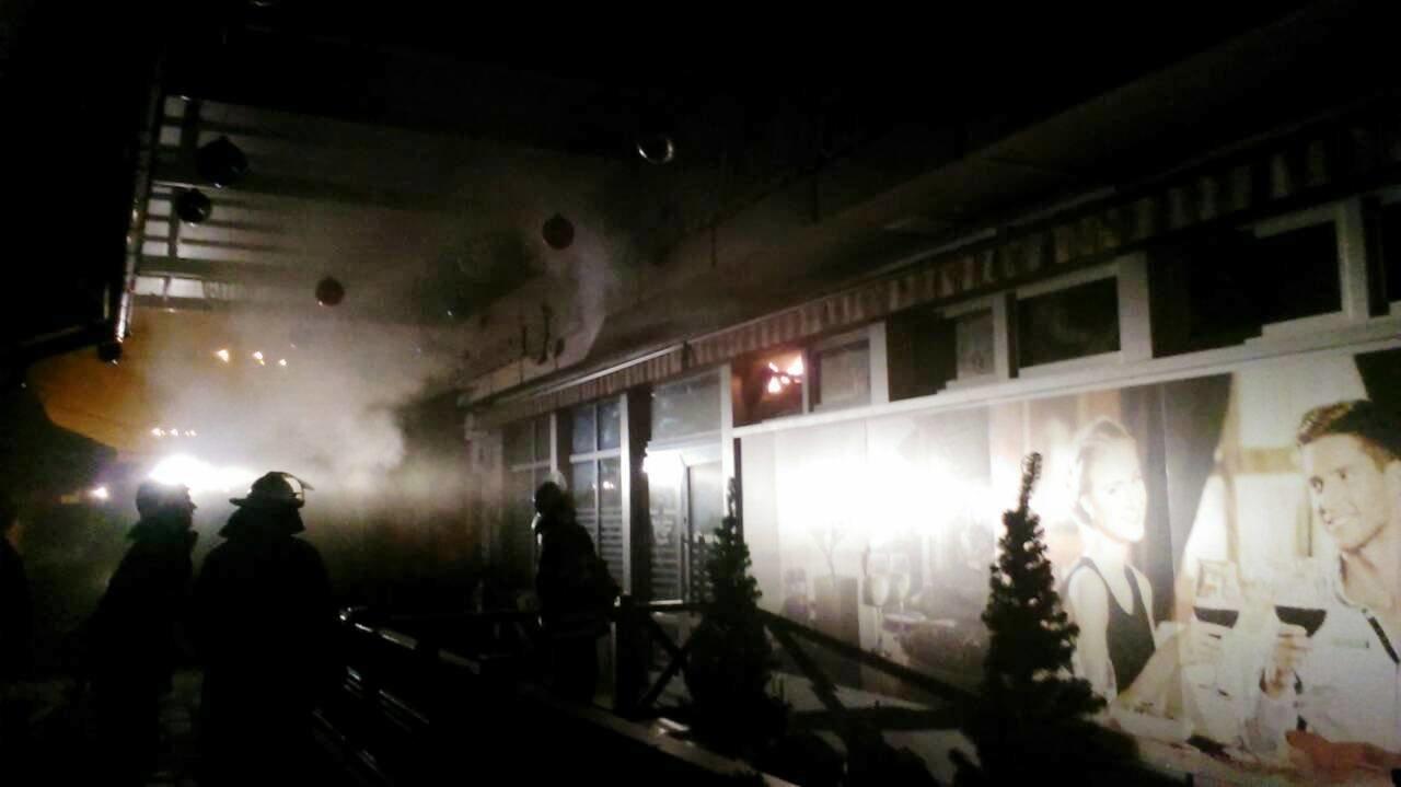 В Каменском горело «Место встречи», фото-2
