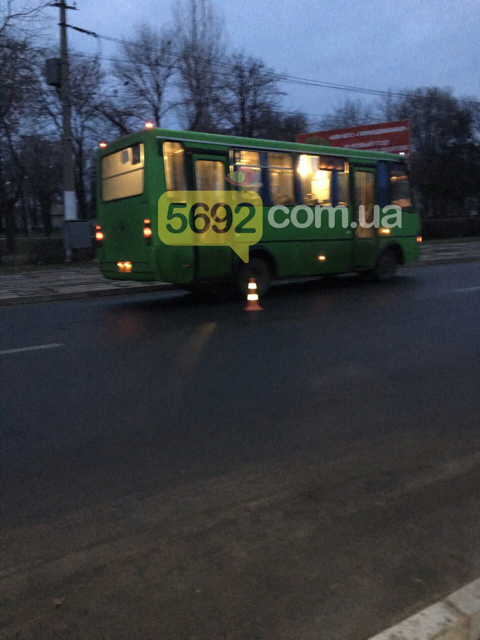 В Каменском маршрутка сбила пешехода, фото-3