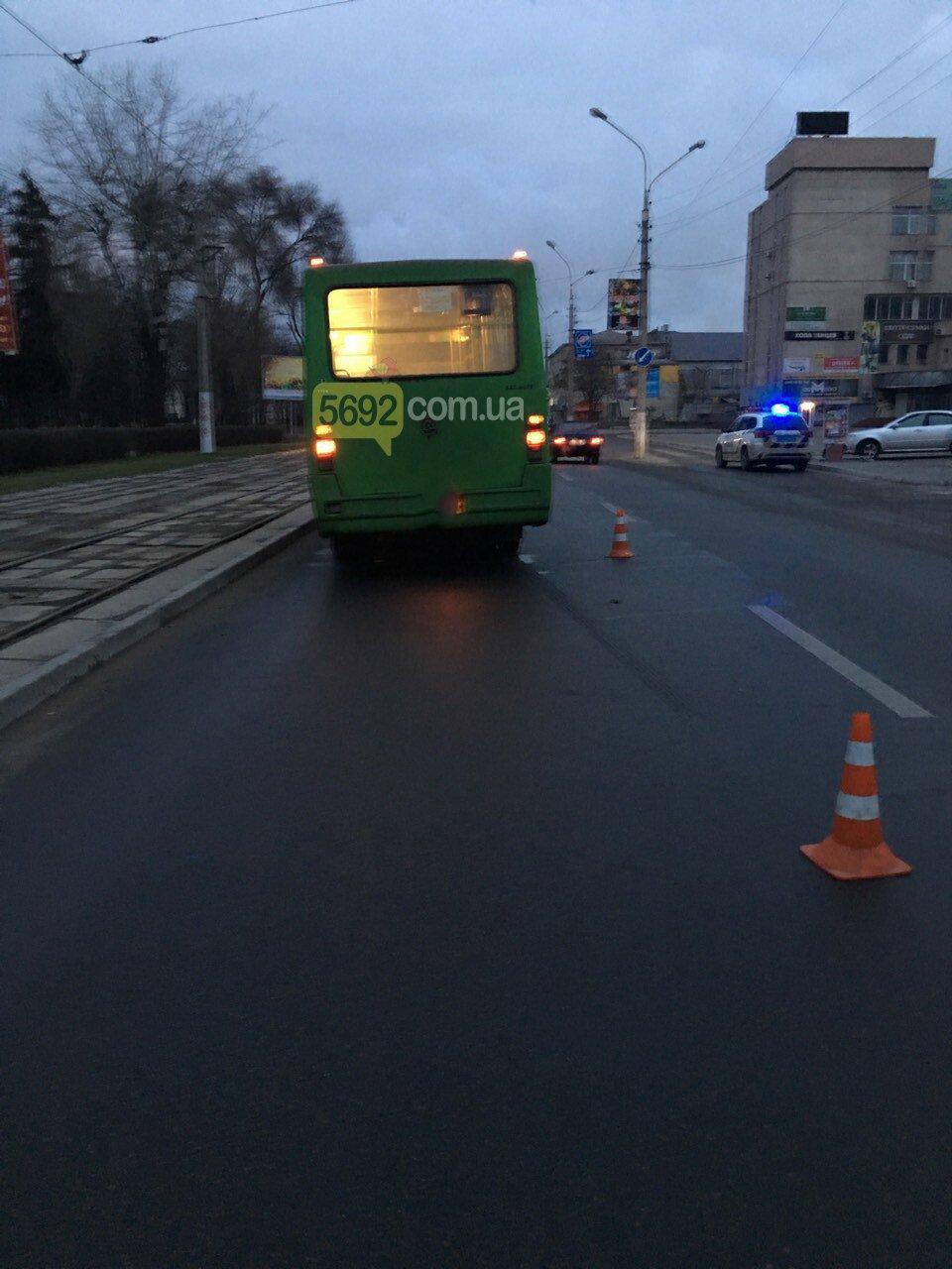В Каменском маршрутка сбила пешехода, фото-2