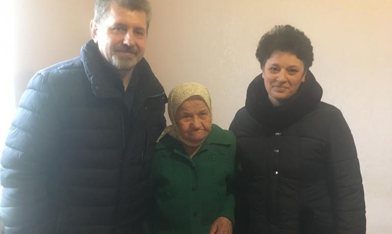 100-летнюю каменчанку поздравили с юбилеем, фото-1