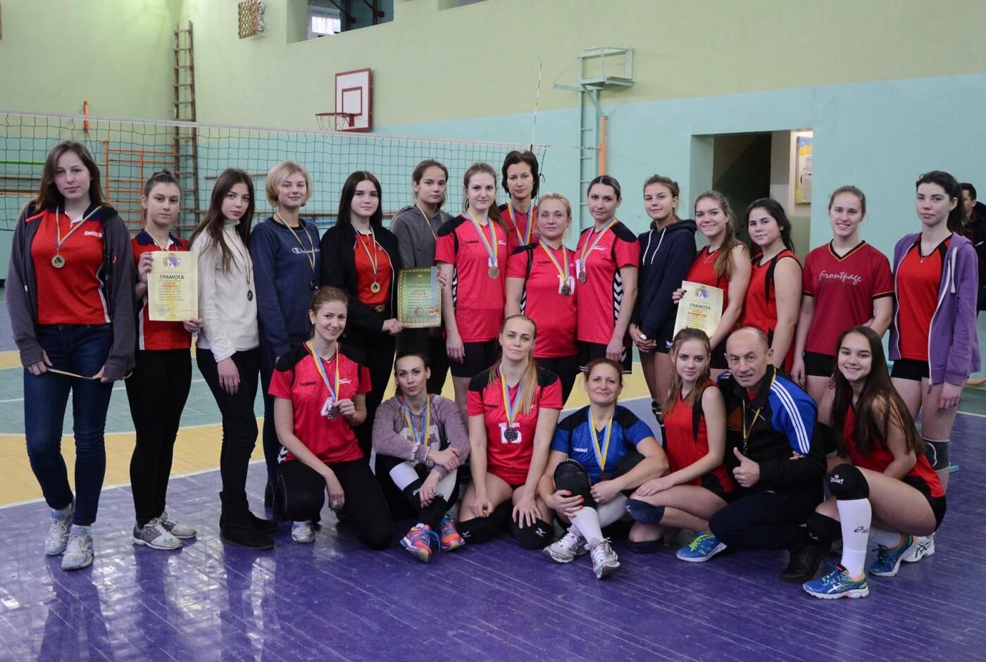 В Каменском соревновались волейболисты, фото-1