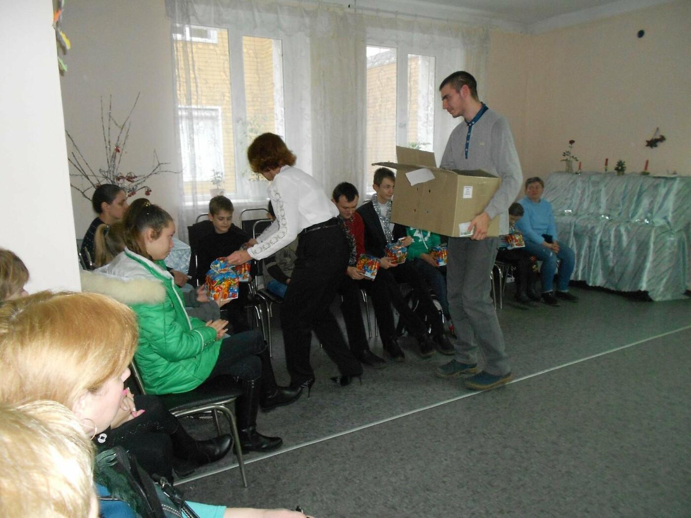 В Каменском поздравили детей с особенными потребностями, фото-1