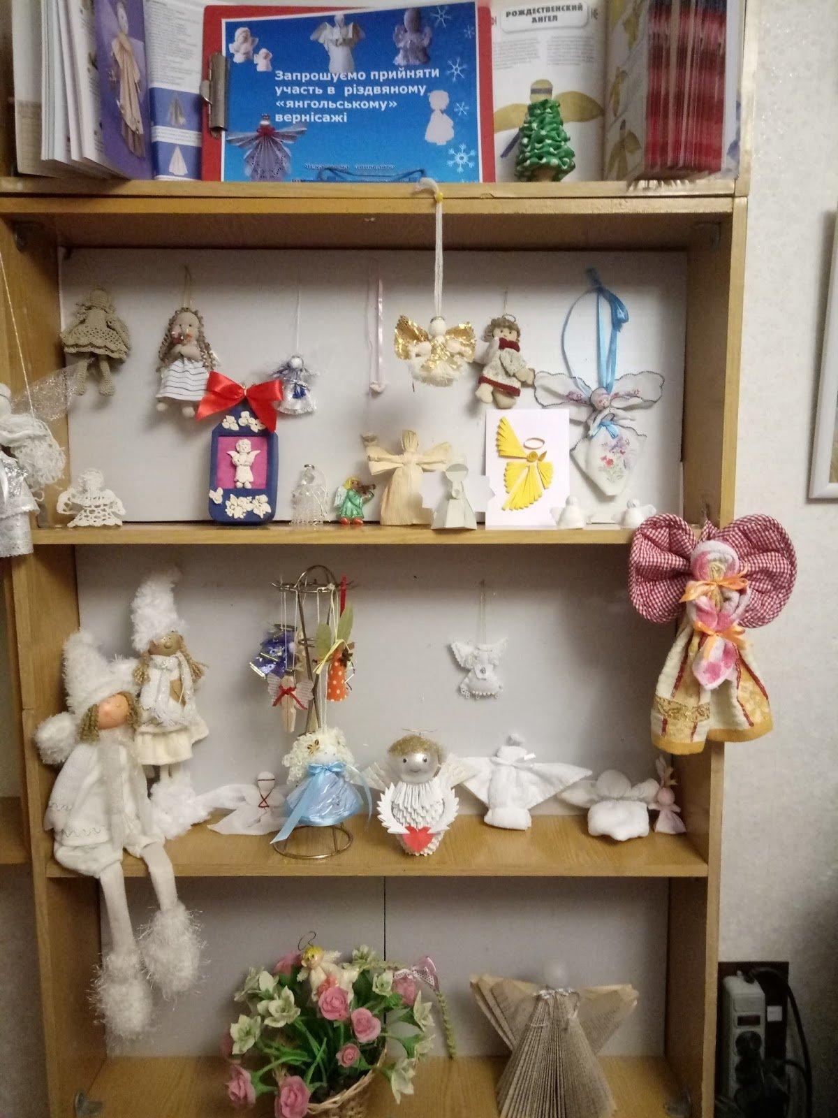 В библиотеке Каменского прошел мастер-класс по изготовлению новогодних украшений, фото-2