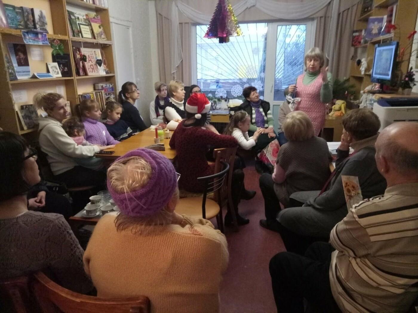 В библиотеке Каменского прошел мастер-класс по изготовлению новогодних украшений, фото-3
