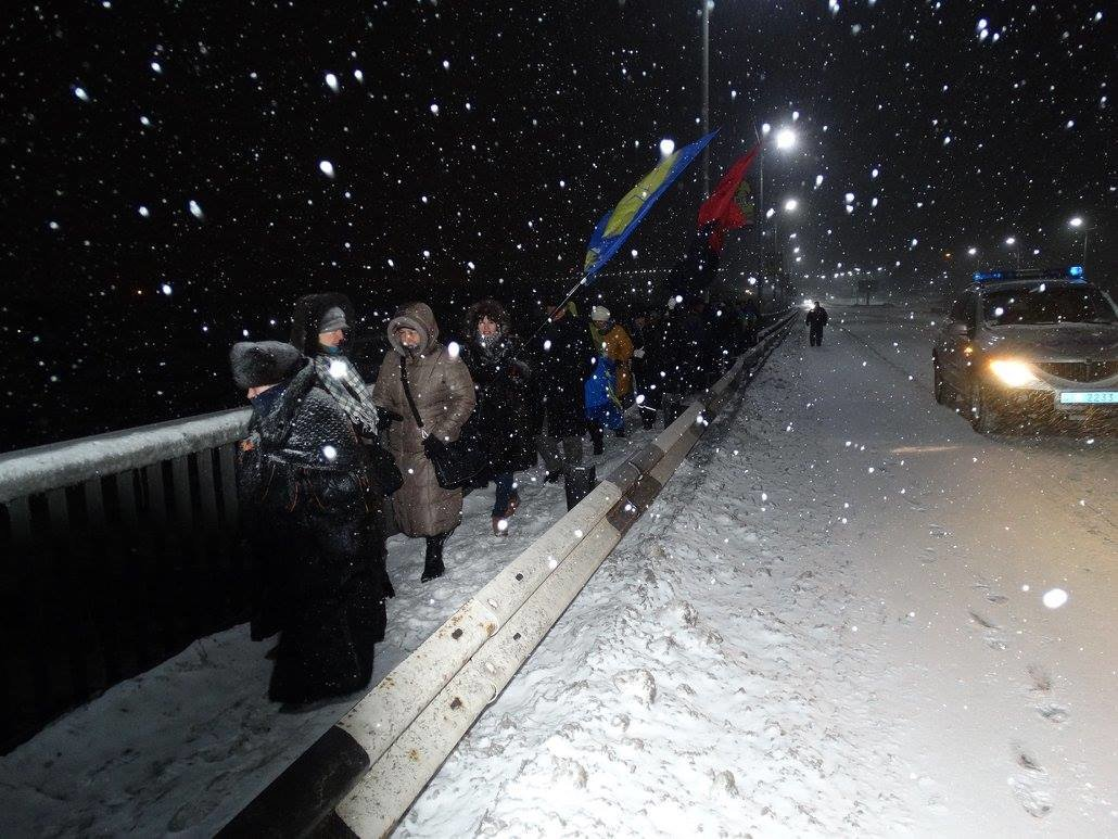 В Каменском организовали Цепь единения, фото-3
