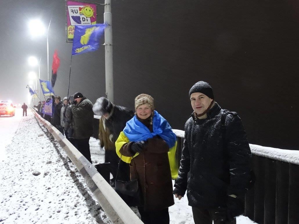 В Каменском организовали Цепь единения, фото-2