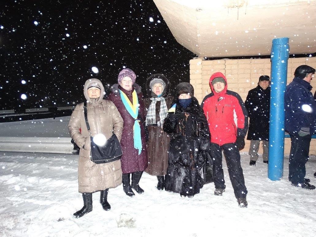 В Каменском организовали Цепь единения, фото-4