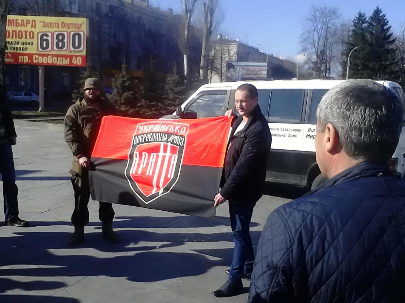 В помощь бойцам АТО: депутат из Каменского Сергей Мыршавка передал на передовую автомобиль, фото-3