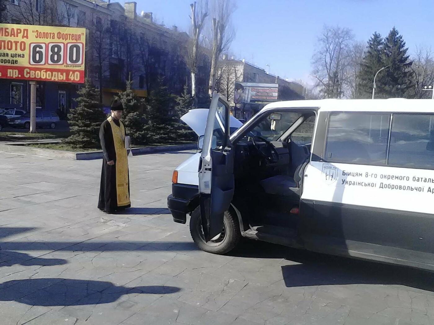 В помощь бойцам АТО: депутат из Каменского Сергей Мыршавка передал на передовую автомобиль, фото-5