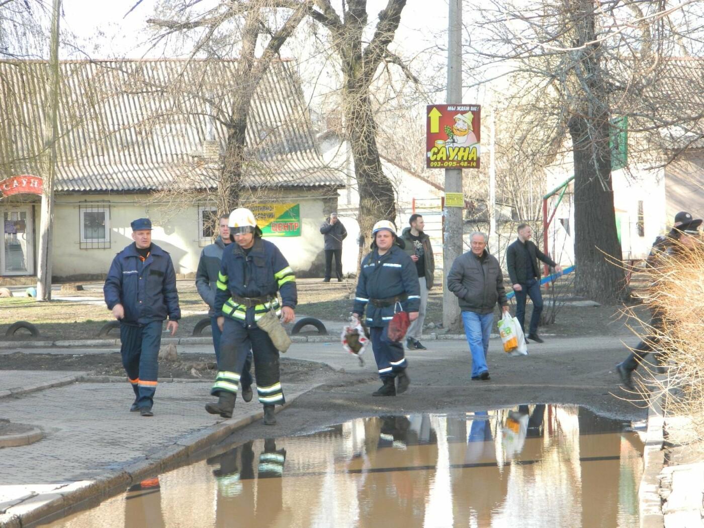 В центре Каменского утечка газа: эвакуировали 200 человек, фото-4