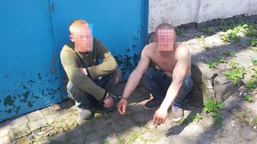 В Каменском полиция охраны поймала воришек, покусившихся на телефонный кабель, фото-1