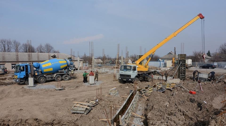 В Романково полным ходом идет строительство современного детского сада, фото-5