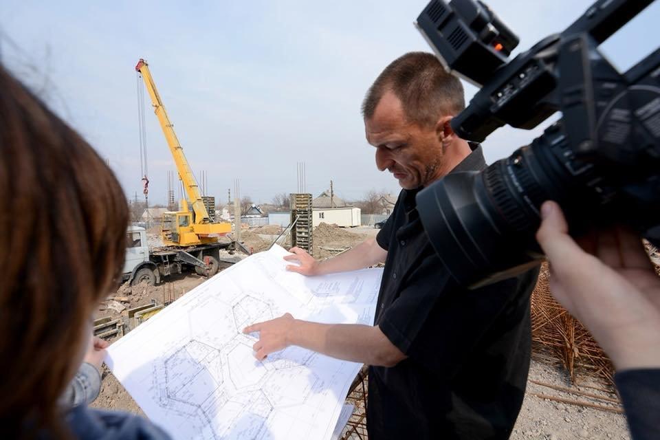 В Романково полным ходом идет строительство современного детского сада, фото-1