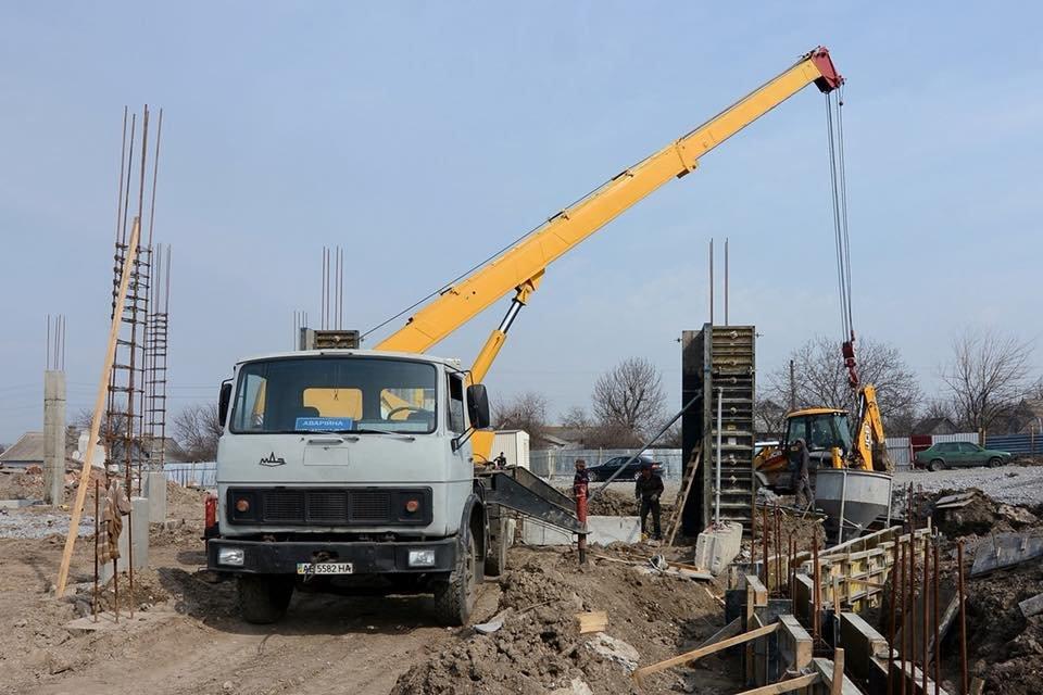В Романково полным ходом идет строительство современного детского сада, фото-11