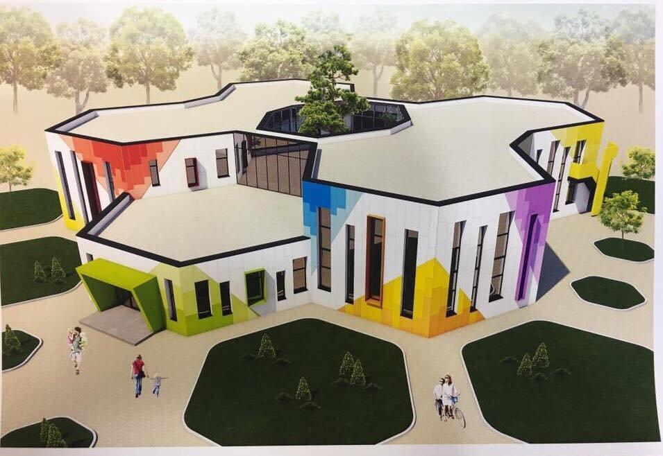 В Романково полным ходом идет строительство современного детского сада, фото-3