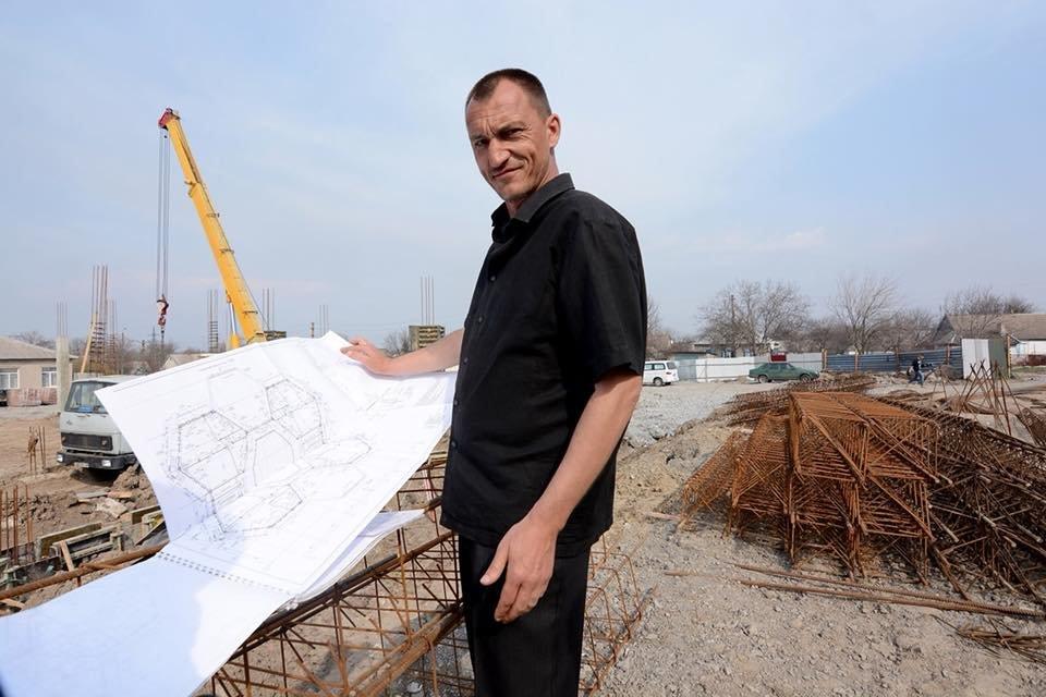 В Романково полным ходом идет строительство современного детского сада, фото-8