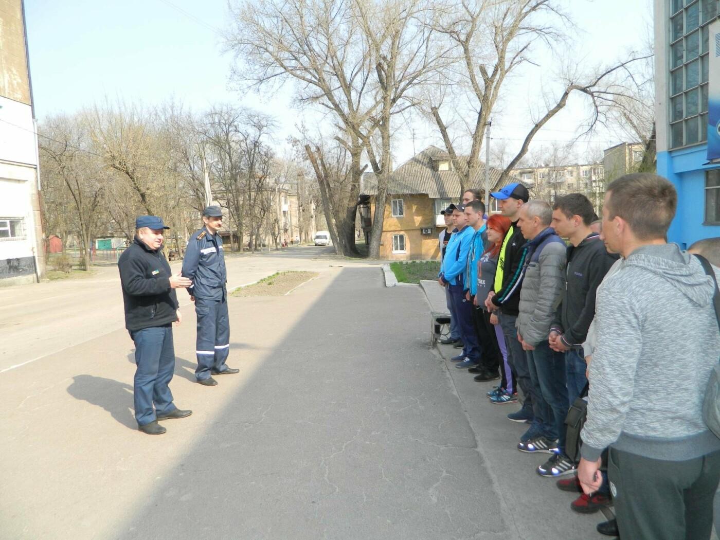 Каменские спасатели соревновались по полиатлону, фото-5