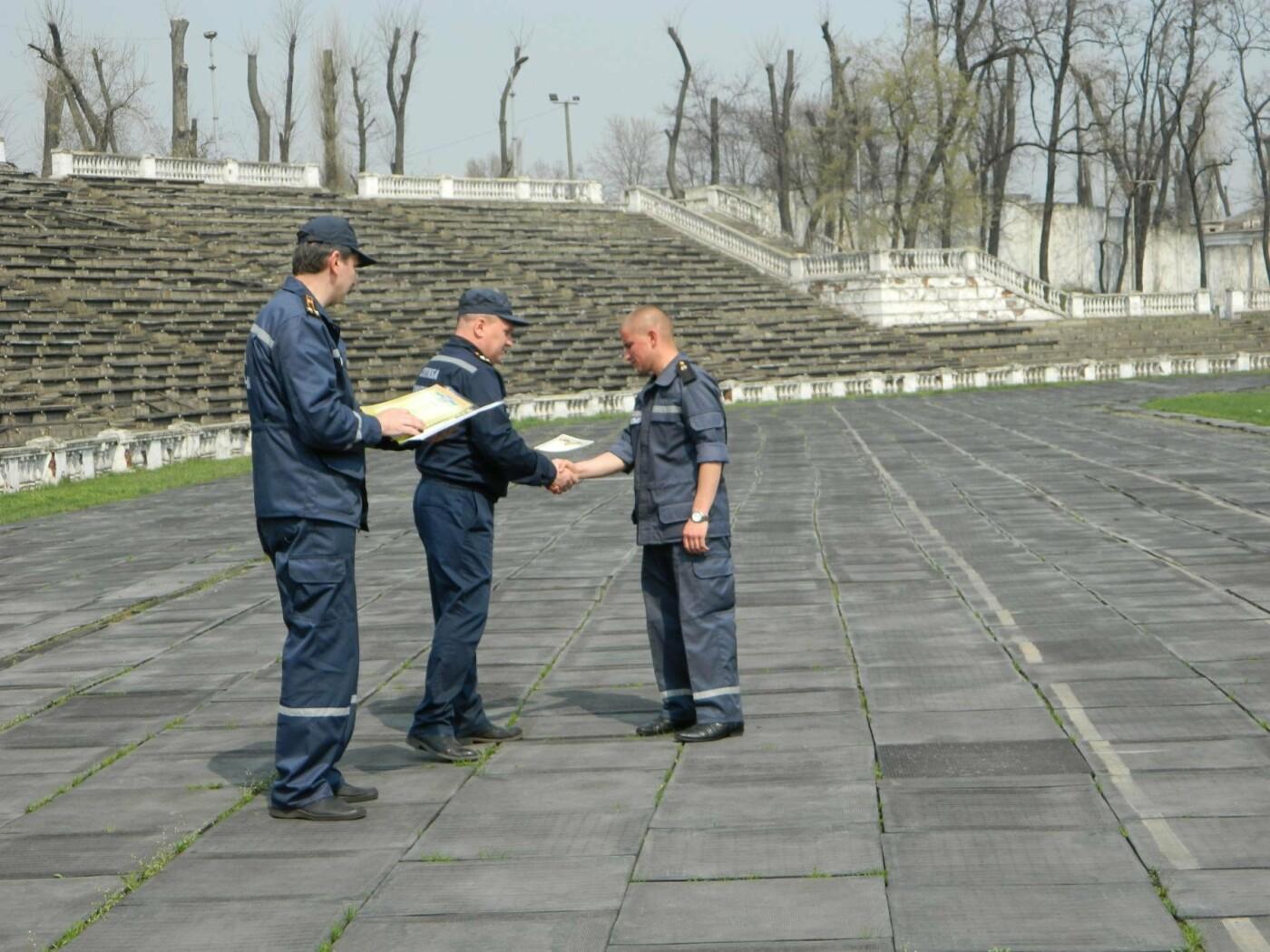 Каменские спасатели соревновались по полиатлону, фото-6
