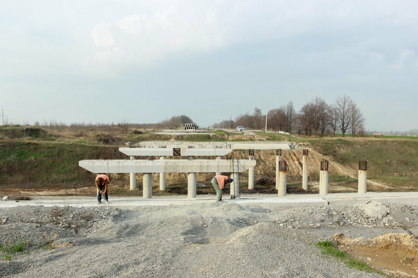Началось строительство второй очереди объездной дороги вокруг Днепра, фото-1