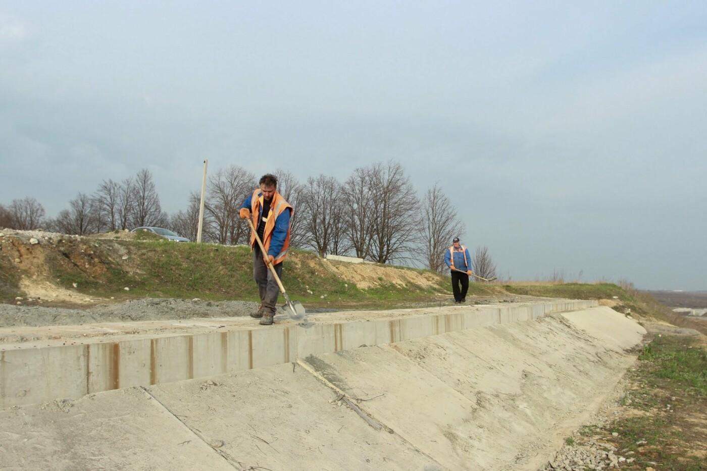 Началось строительство второй очереди объездной дороги вокруг Днепра, фото-4