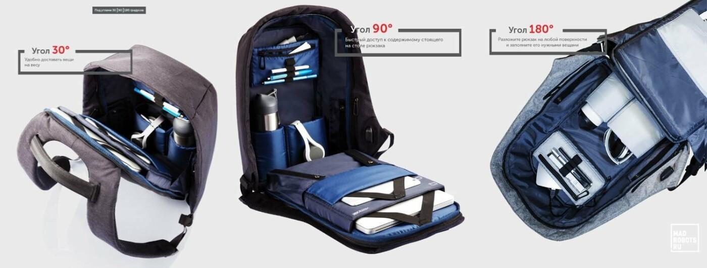 Что скрывается за стильным дизайном рюкзака Bobby, фото-2