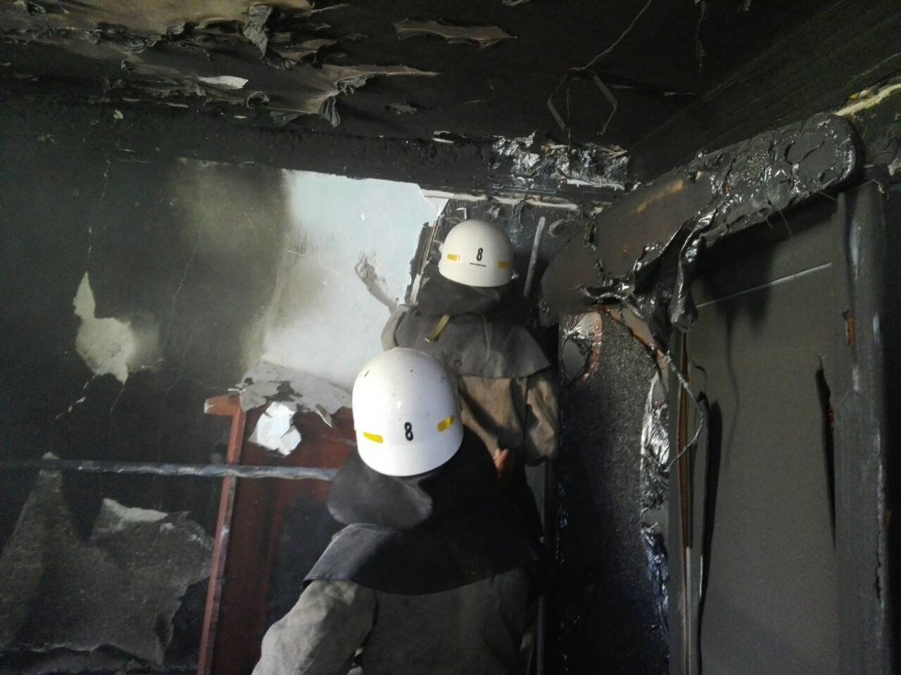 В Каменском сгорела квартира на улице Воробьева, фото-1