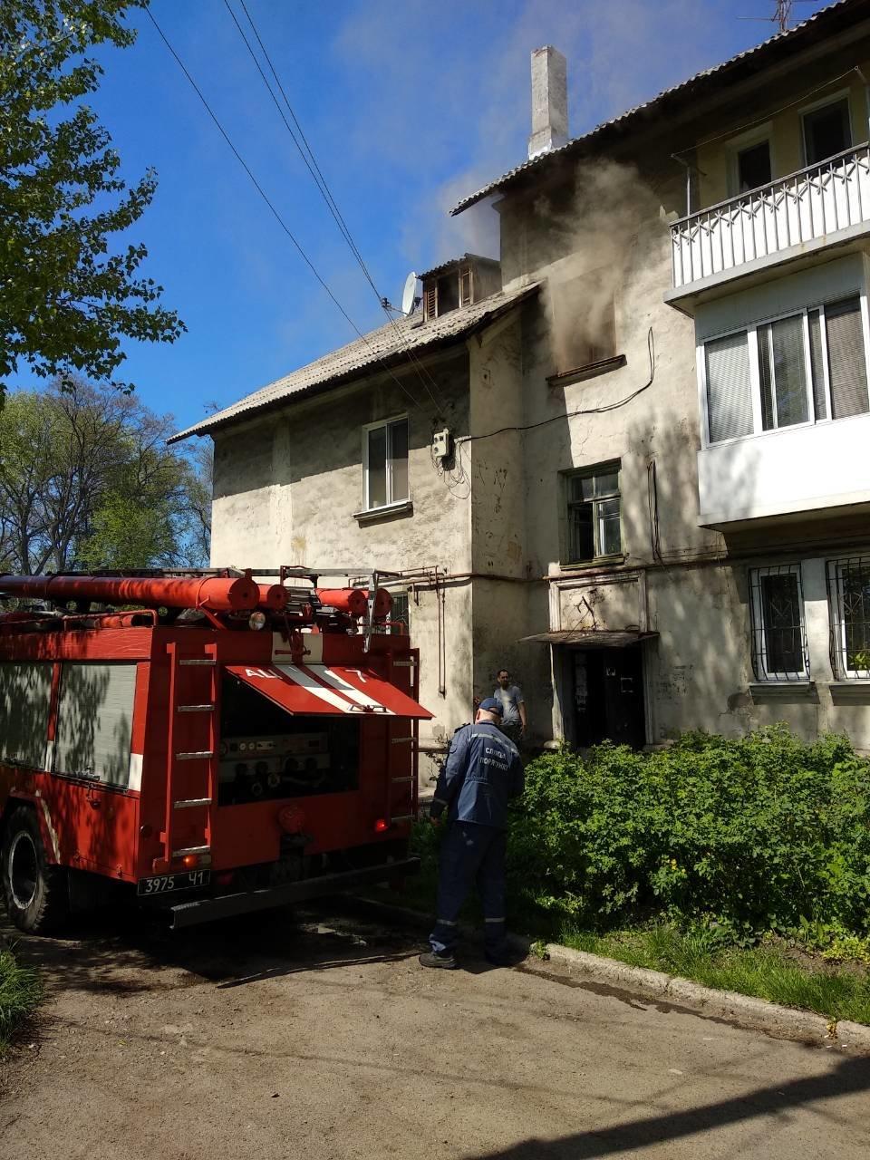 В Каменском сгорела квартира на улице Воробьева, фото-2