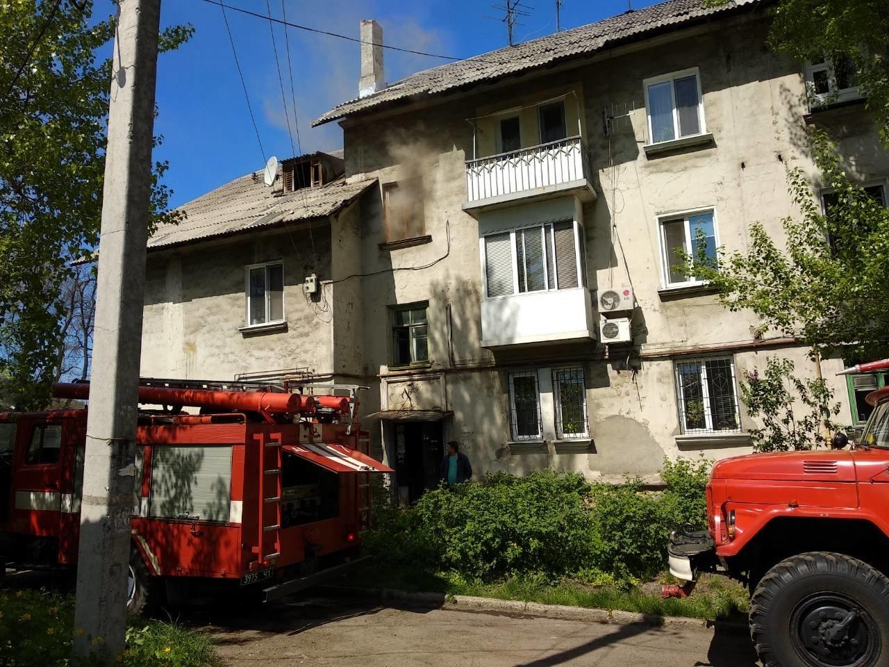 В Каменском сгорела квартира на улице Воробьева, фото-3