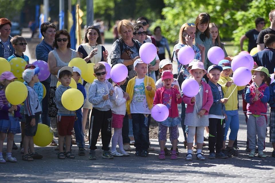 Возле «Химика» в Каменском отметили День защиты детей, фото-1