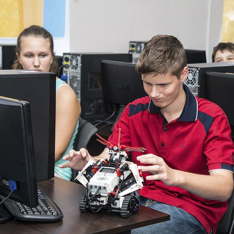 Компьютерный лагерь в Академии Шаг, фото-2