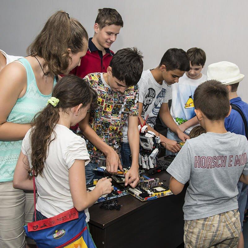 Компьютерный лагерь в Академии Шаг, фото-3