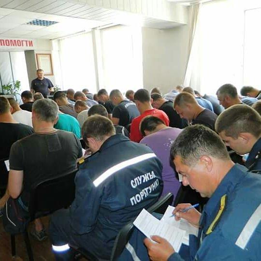 В Каменском проверили подготовку спасетелей, фото-3
