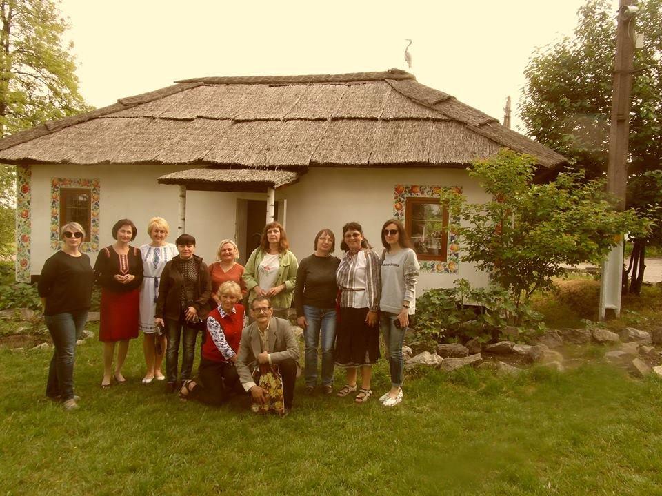 Краеведы Каменского посетили Карнауховку, фото-4