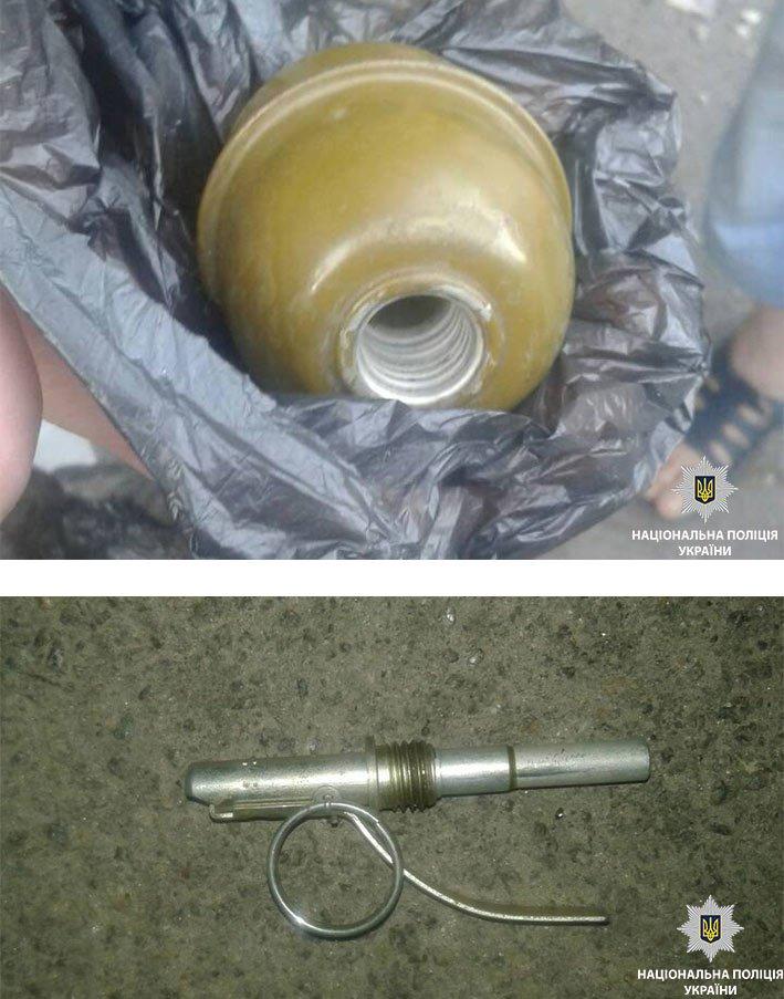 За кредитом с гранатой: полицейские Каменского задержали подозреваемого в разбое, фото-1