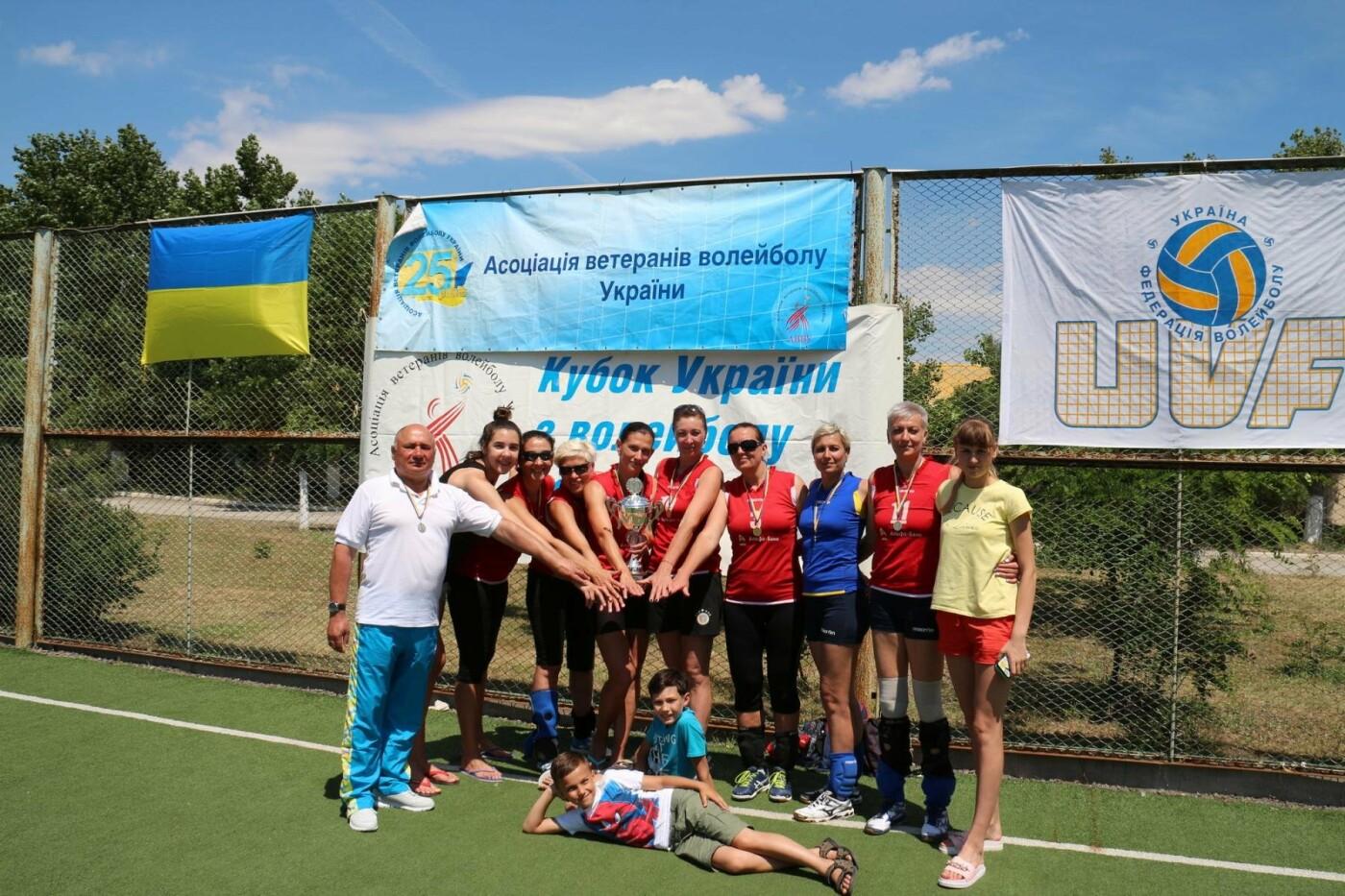 Ветераны волейбола из Каменского стали чемпионами Украины, фото-3