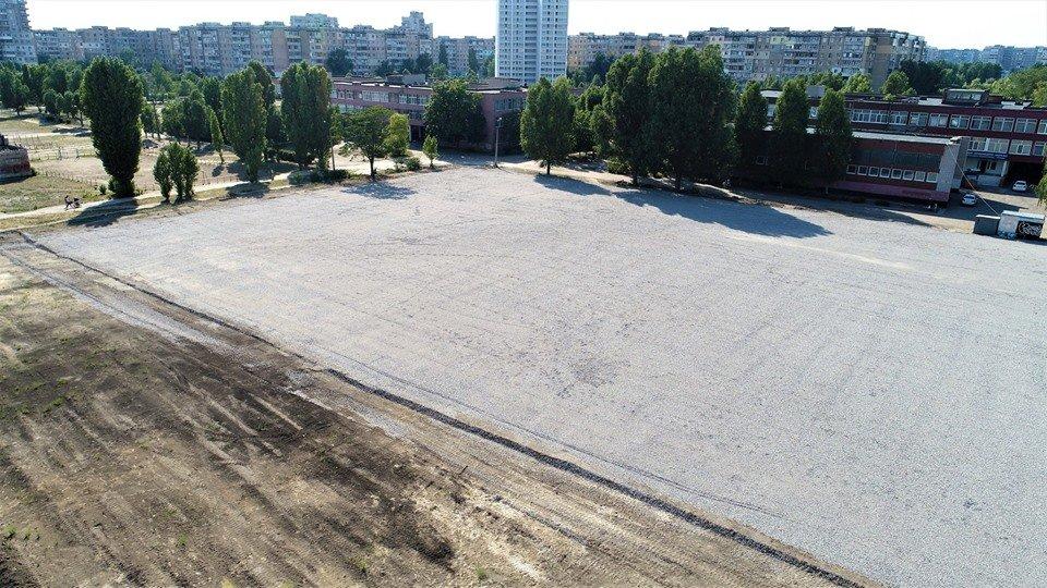 У маленьких каменчан появится стадион с баскетбольной площадкой, футбольным полем и  зоной воркаута, фото-15