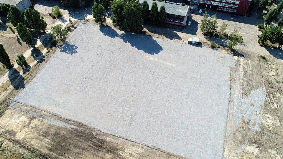 У маленьких каменчан появится стадион с баскетбольной площадкой, футбольным полем и  зоной воркаута, фото-13
