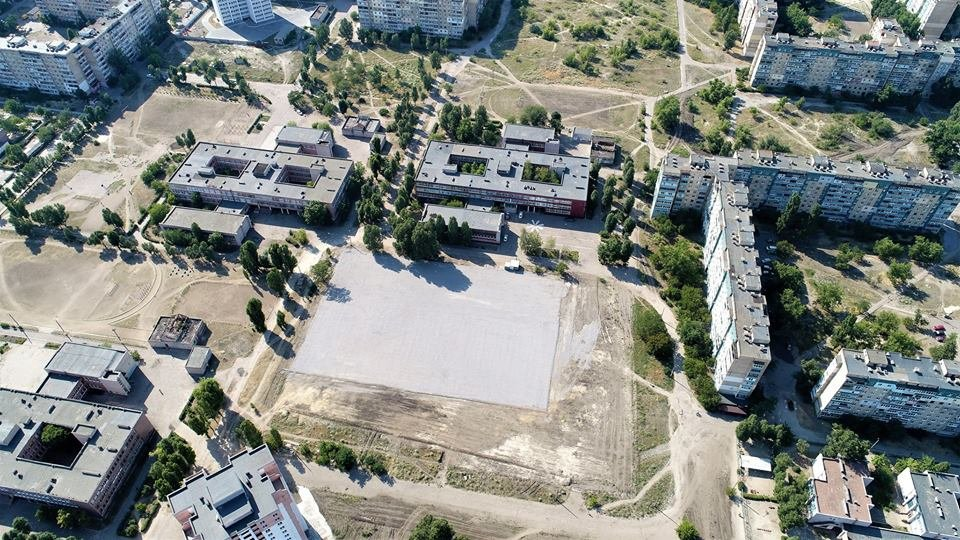 У маленьких каменчан появится стадион с баскетбольной площадкой, футбольным полем и  зоной воркаута, фото-14