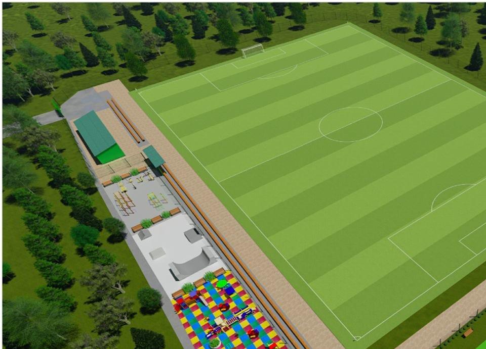 У маленьких каменчан появится стадион с баскетбольной площадкой, футбольным полем и  зоной воркаута, фото-1
