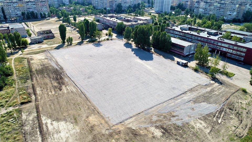 У маленьких каменчан появится стадион с баскетбольной площадкой, футбольным полем и  зоной воркаута, фото-6